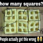 how many squares are there in this picture puzzle