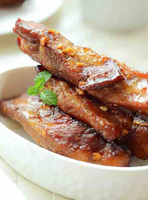 Roast Garlic Spareribs