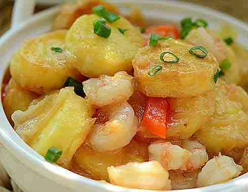Egg Tofu Shrimp