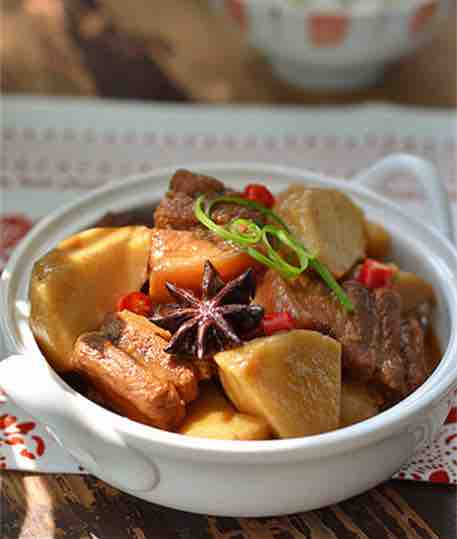 sweet potato pork tenderloin stew