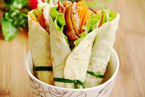 Chicken Lettuce Wrap 3