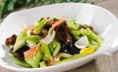 Cold Three Treasure Dish With Sauce