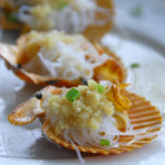 steamed scallop with rice Vermicelli And Garlic