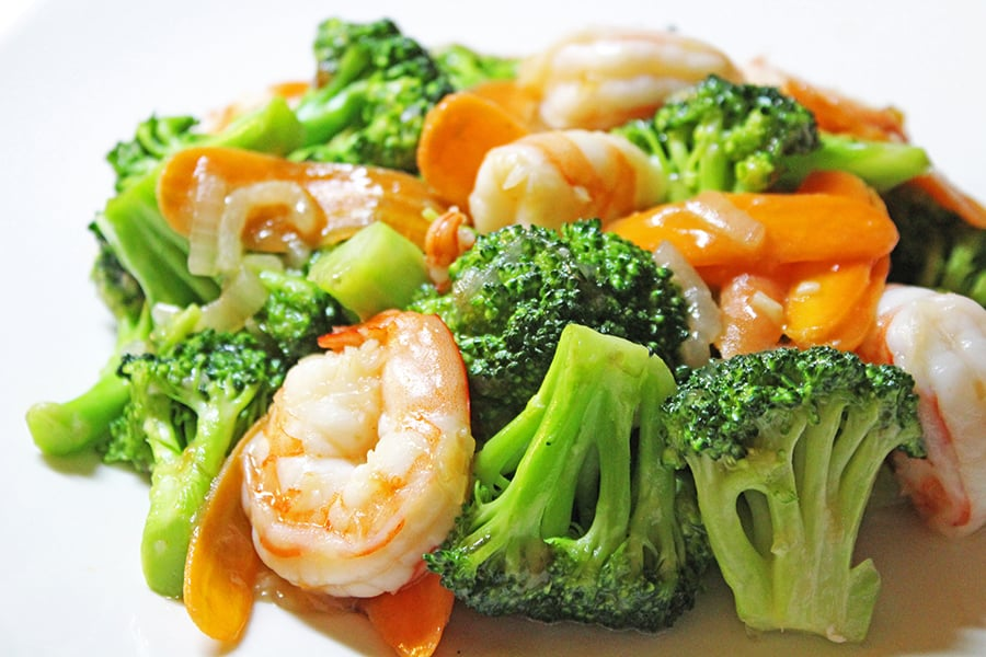 Shrimp authentic chinese food recipes blog shrimp with broccoli forumfinder Image collections